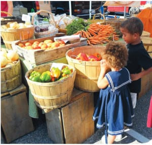 The Council is a strong advocate of the year-round Lewiston Farmers' Market.
