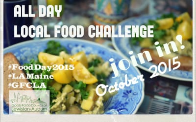 Join Us for the All Day Local Food Challenge!