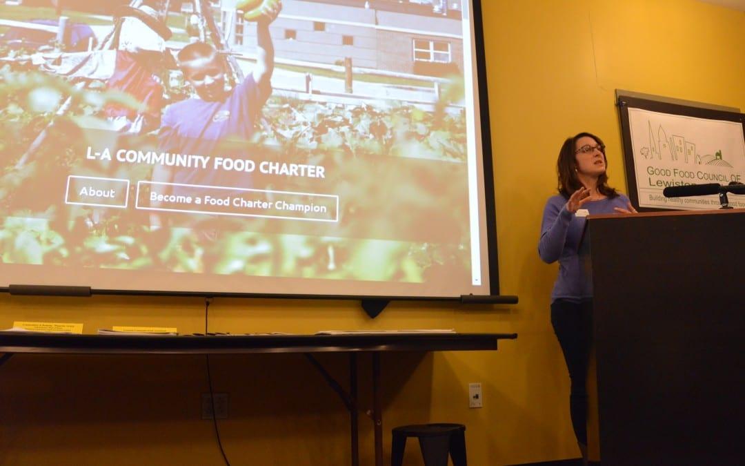 New Lewiston-Auburn Community Food Charter Celebrated