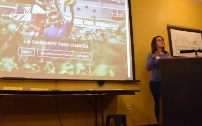 New Lewiston-Auburn Community Food Charter Celebrated