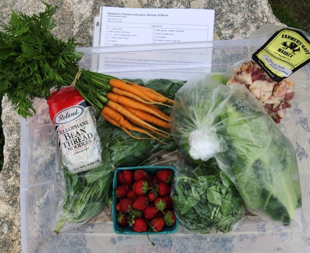 CSA meal-kit hybrid