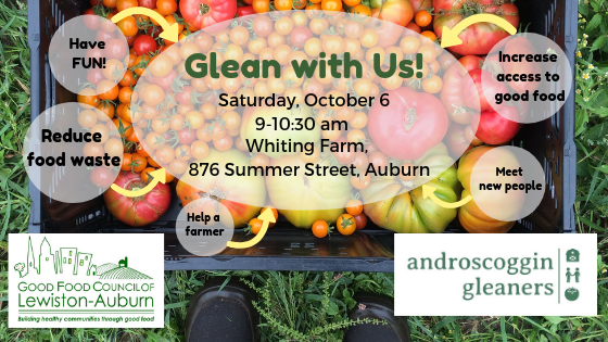 Glean with Us!