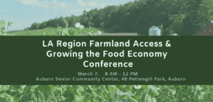 LA Region Farmland Access & Growing the Food Economy Conference