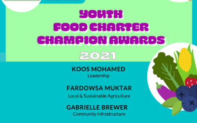 Announcing 2021 Youth Food Charter Champion Award Winners
