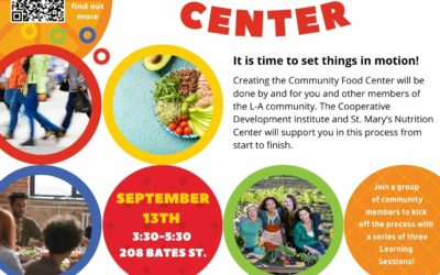 Community Food Center coming to downtown Lewiston!  Learn more on 9/13 – LA Local Foods Action Plan
